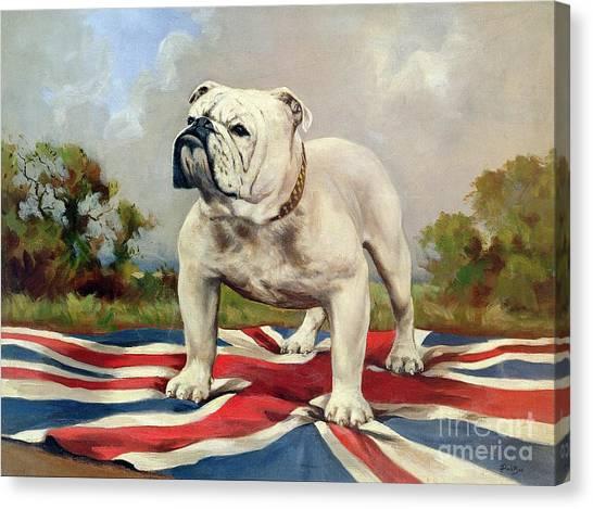 Prairie Dogs Canvas Print - British Bulldog by English School