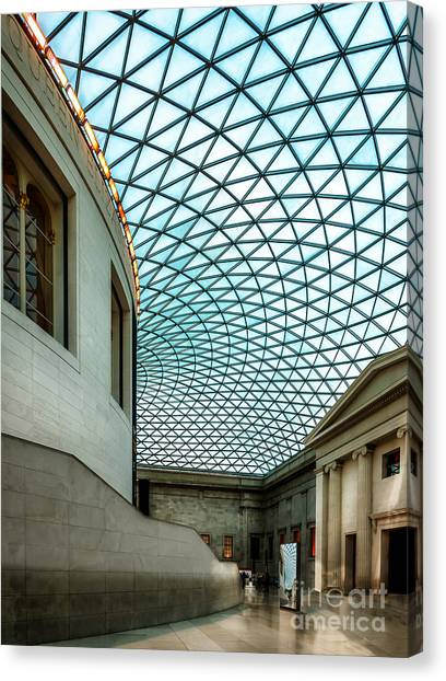 The British Museum Canvas Print - British Museum by Adrian Evans