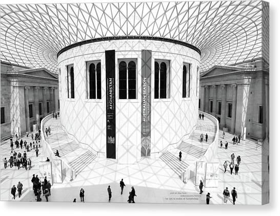 The British Museum Canvas Print - British Museum by Martin Williams