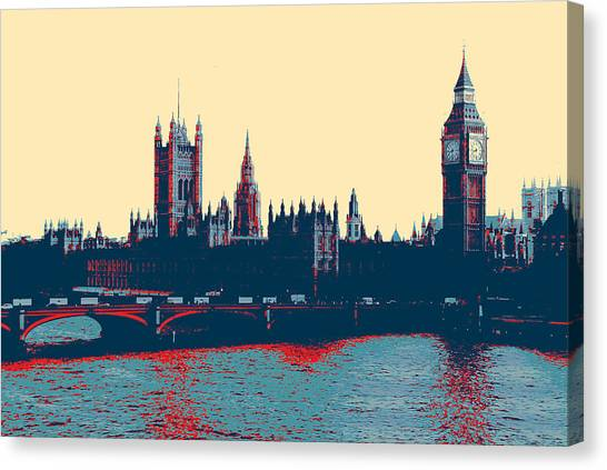 British Parliament Canvas Print