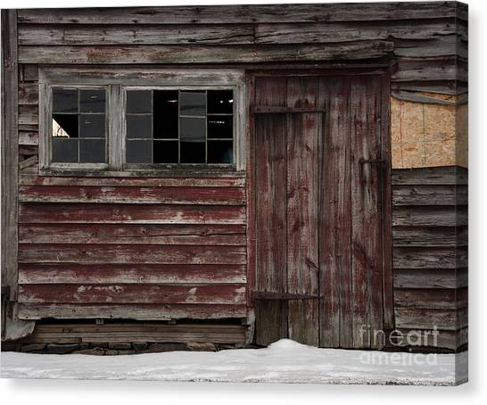 Broad Side Of A Barn Canvas Print