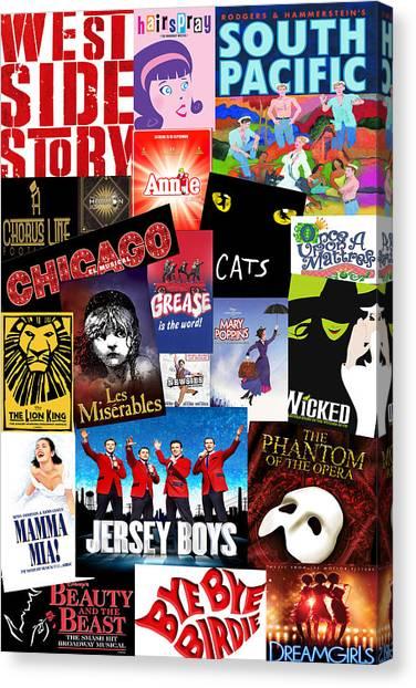 Broadway 8 Canvas Print
