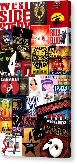 Broadway 9 Canvas Print