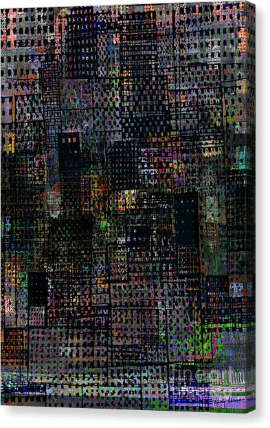 Broadway Boogie Woogie  Canvas Print by Andy  Mercer