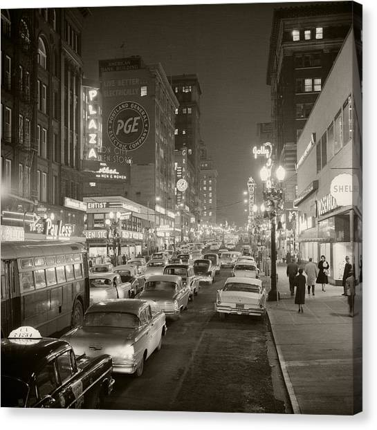 Broadway Canvas Print by Unknown