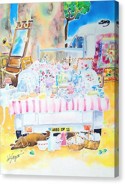 Brocante Canvas Print