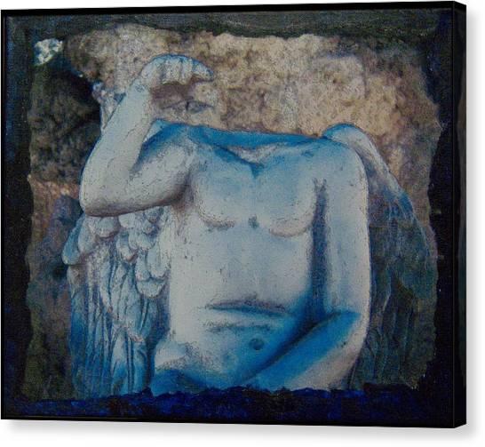Broken Angel  Mono Lake Canvas Print