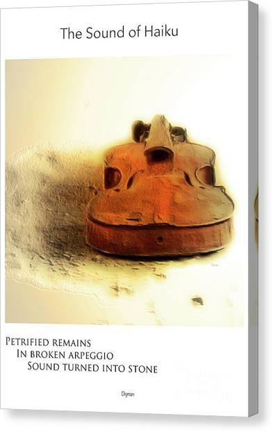 Broken Arpeggio  Canvas Print by Steven Digman