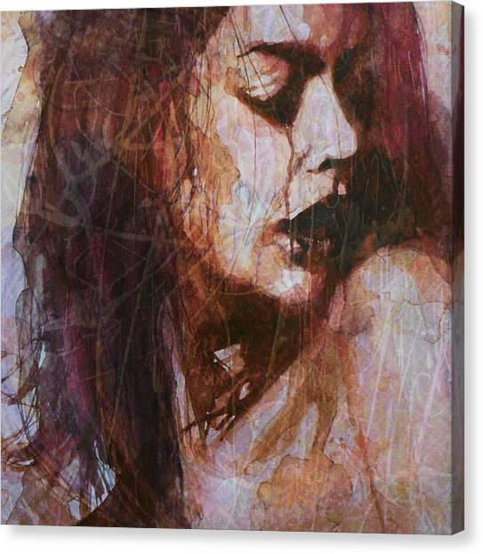 Tear Canvas Print - Broken Down Angel by Paul Lovering