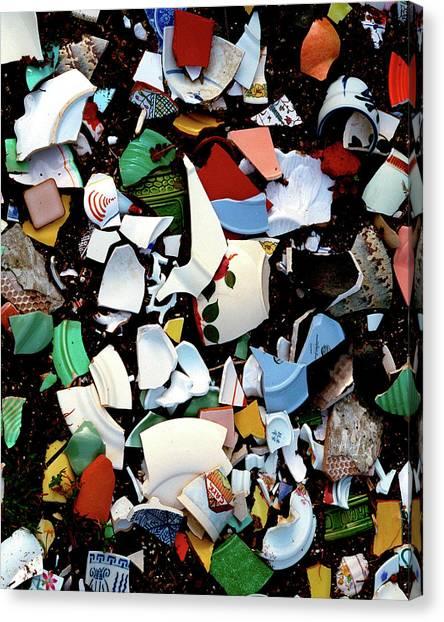 Broken Memories Canvas Print
