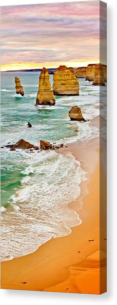 Biblical Canvas Print - Broken Relics by Az Jackson