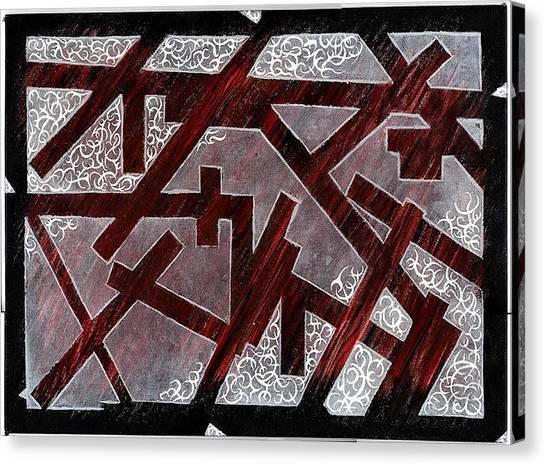 Broken Skin Canvas Print by Nathaniel Hoffman