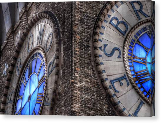 Bromo Seltzer Tower Clock Face #2 Canvas Print