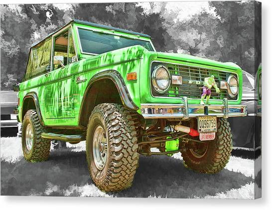 Bronco 1 Canvas Print