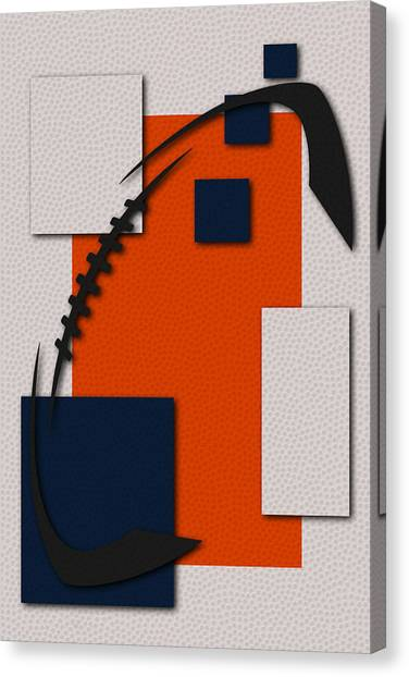 Denver Broncos Canvas Print - Broncos Football Art by Joe Hamilton