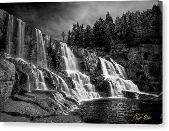 Brooding Gooseberry Falls Canvas Print