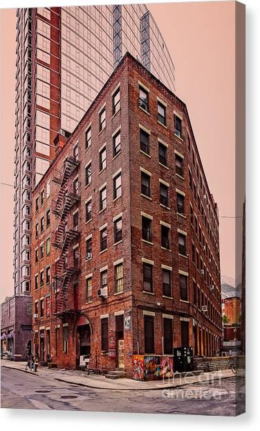 Brooklyn Apartments Canvas Print