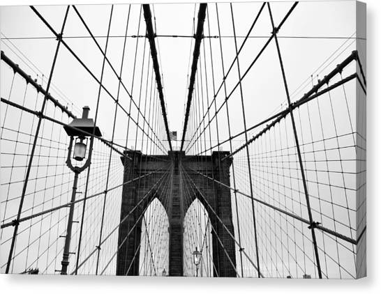 New York City Canvas Print - Brooklyn Bridge by Thank you for choosing my work.