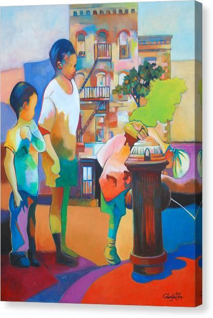 Brooklyn Life Canvas Print