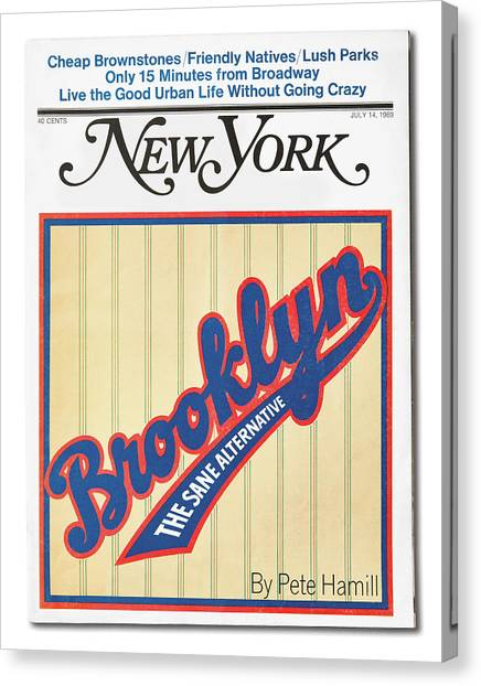 Brooklyn The Sane Alternative Canvas Print
