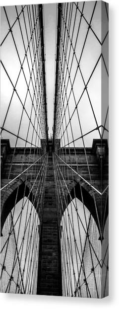 Symmetrical Canvas Print - Brooklyn's Web by Az Jackson