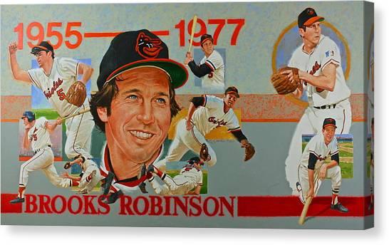 Brooks Robinson Canvas Print
