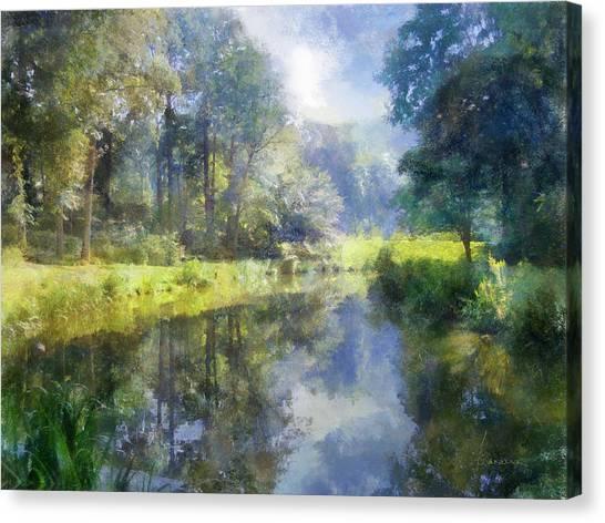 Brookside Canvas Print