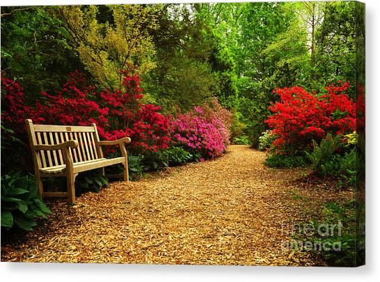 Brookside Gardens Canvas Print
