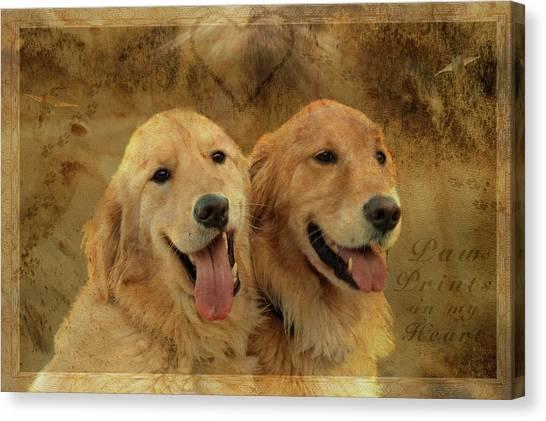 Brotherly Love Canvas Print