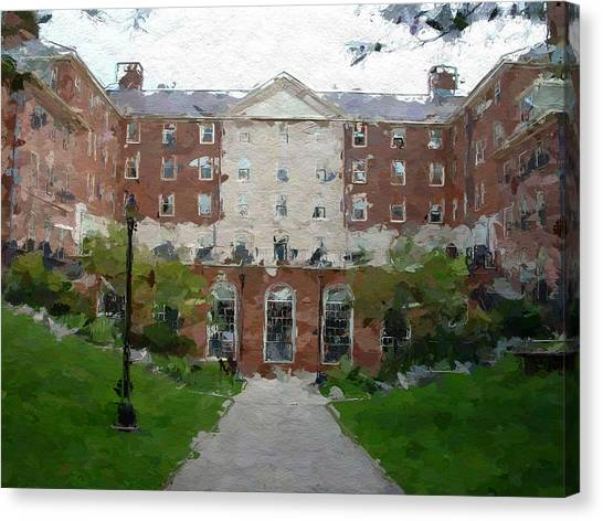 Brown University Canvas Print - Brown University by Queso Espinosa