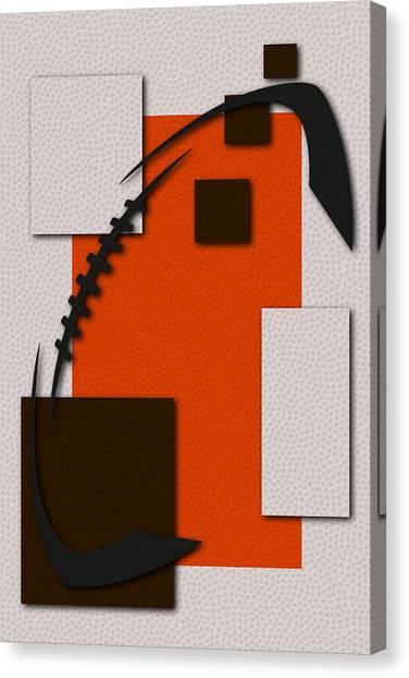 Cleveland Browns Canvas Print - Browns Football Art by Joe Hamilton