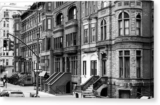 Nyfd Canvas Print - Brownstone by Darren Martin