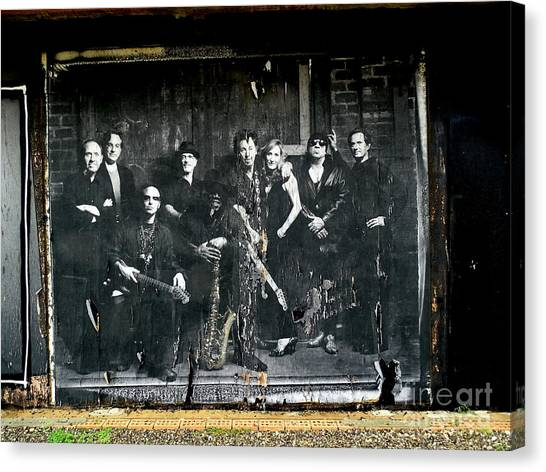 Bruce And The E Street Band Canvas Print