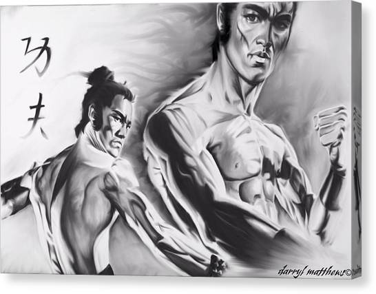 Bruce Lee Canvas Print