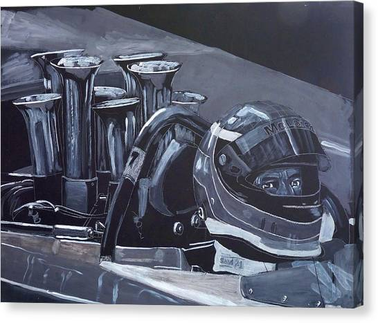 Bruce Mclaren Canam Canvas Print