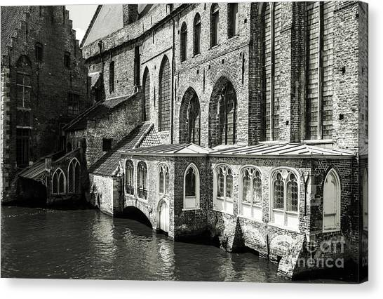 Bruges Medieval Architecture Canvas Print