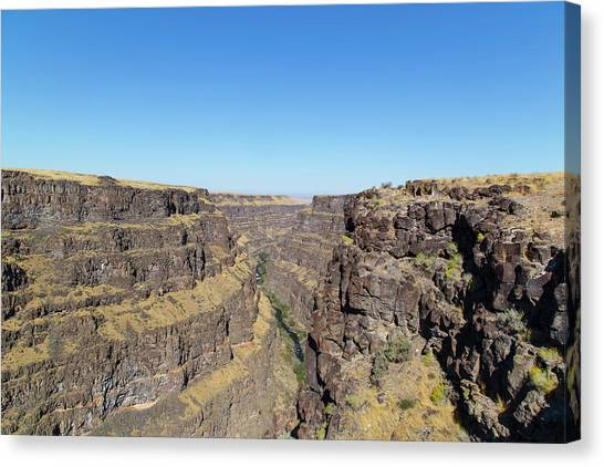 Bruneau Canyon Overlook, Idaho Canvas Print