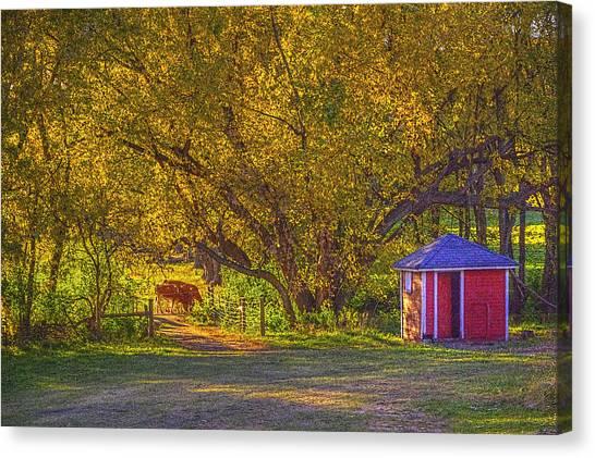 Brunner Organic Family Farm Canvas Print