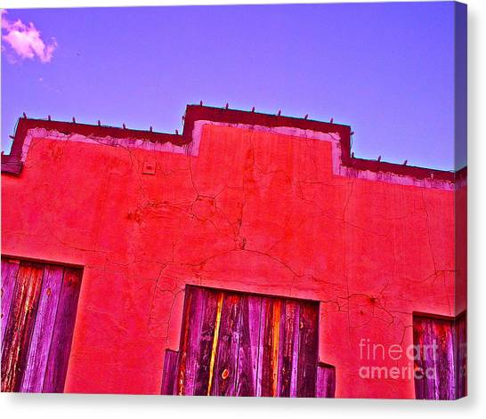 Bryan Downtown Canvas Print by Chuck Taylor