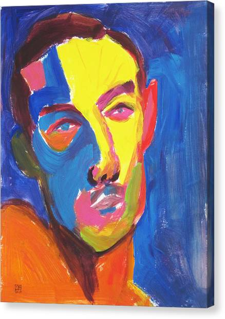 Bryan Portrait Canvas Print