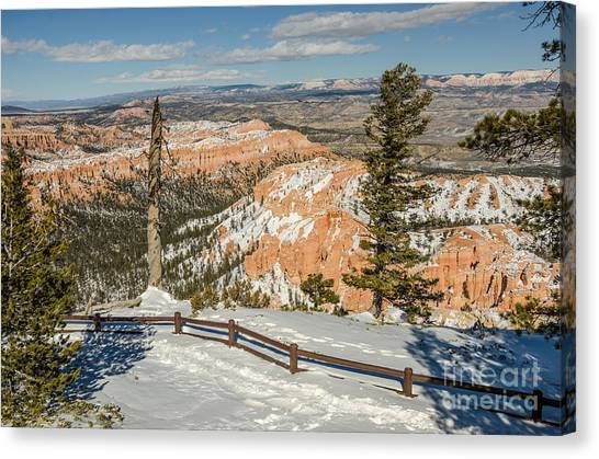 Bryce Amphitheater From Bryce Point Canvas Print