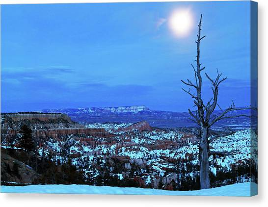Bryce Blue Canvas Print