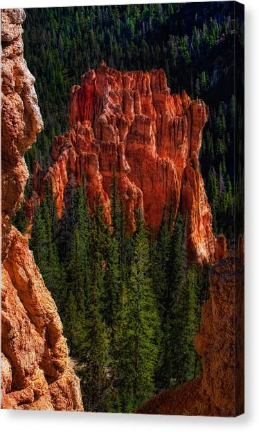 Bryce Canyon Red Rock Canvas Print