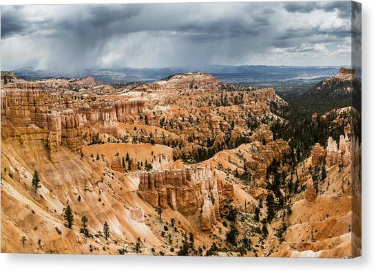 Bryce Canyon Storm Canvas Print