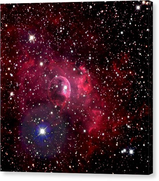 Bubble Nebula Canvas Print