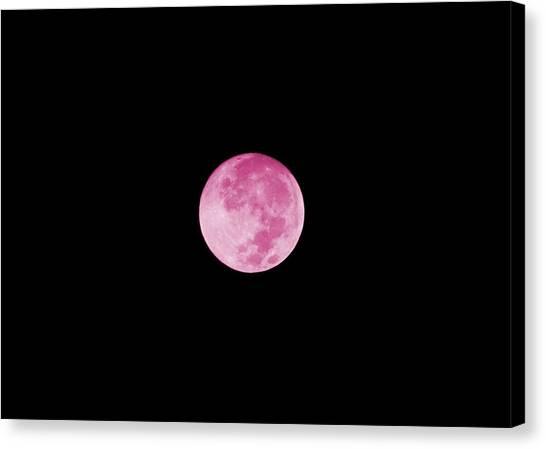 Bubblegum Moon Canvas Print