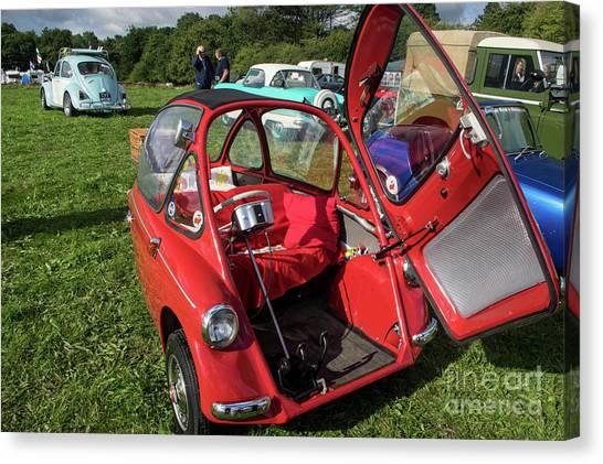 Bubble Cars Canvas Print   Bubbles By Chris Horsnell
