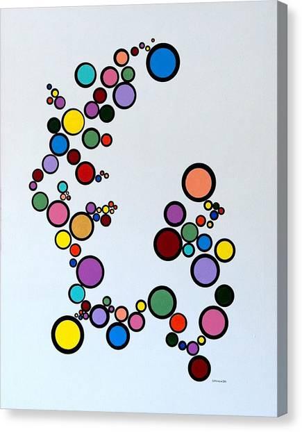 Bubbles2 Canvas Print