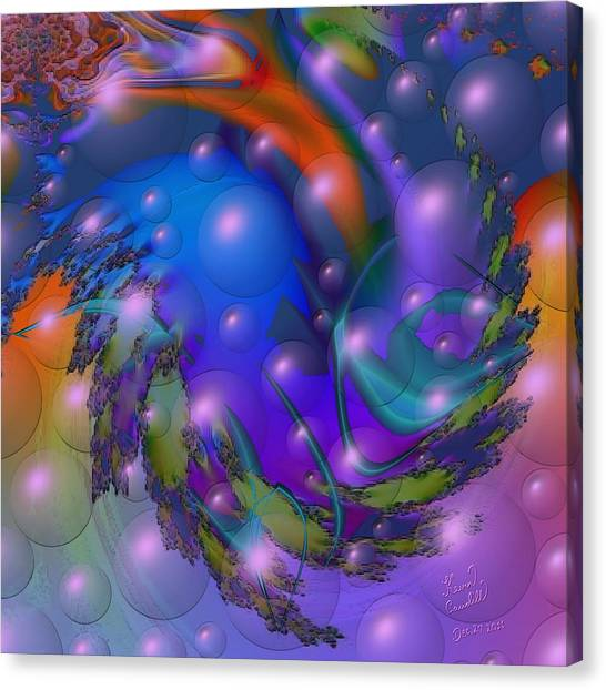 Bubbling Over With Enthusiasim Canvas Print
