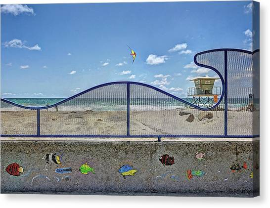 Canvas Print - Buccaneer Beach by Ann Patterson